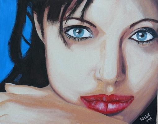 Angelina .  Colin Wright
