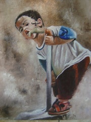 The child . Abdelghani Kebaili