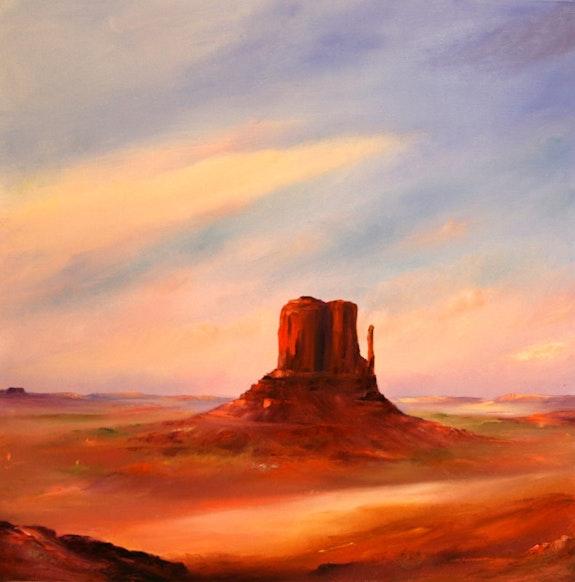 Morning Sun - Monument Valley. Petra Ackermann Petra Ackermann