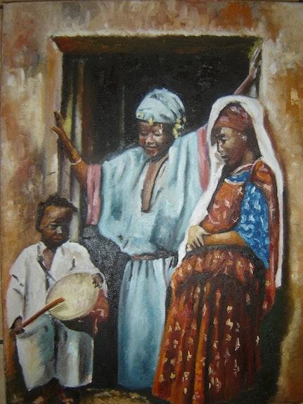 Le tambour.  Abdelghani Kebaili