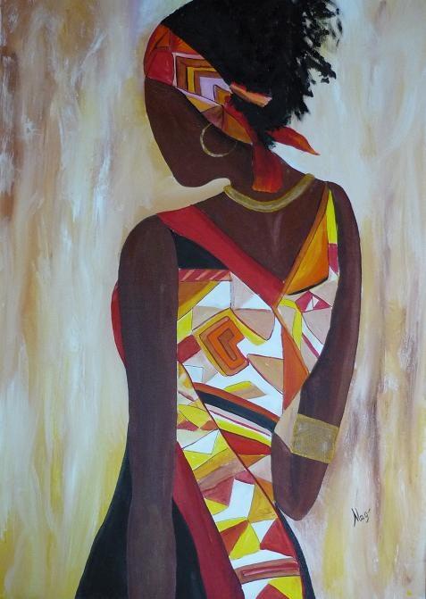 Afrikanische Elegance. Magali Guérard Magali Guérard