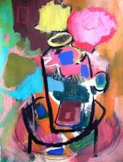 Florero de colores. Bruno Fargueta