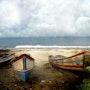 Escena pastoral de los barcos en la playa. La Cie Des Voyageurs/ D. Almon