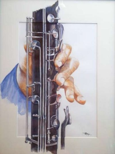 Clarinetist's Hand.  Sobamo