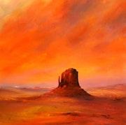 Desert Glow - Monument Valley.