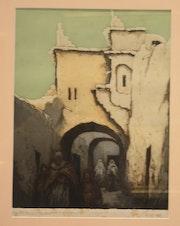 Ghardaia Algerien. Artsmag Tng