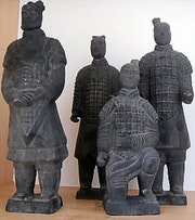 210 Bc Terracotta Army Replicas in 2010ad.