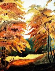 Glade en otoño.