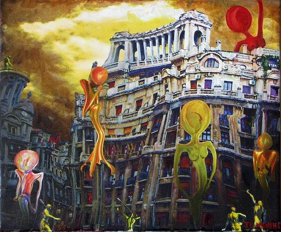 In the city, after…. J. L. Manuel Jean-Louis Manuel