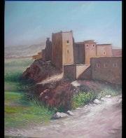 Kasbah de sud marocain.