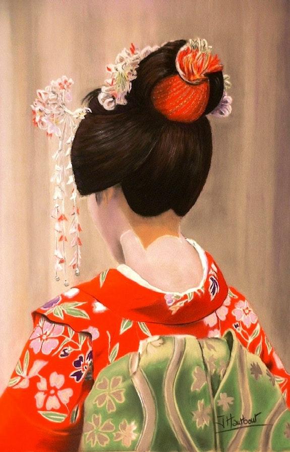 Geisha. Jacqueline Hautbout Jacqueline Hautbout