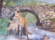 Fox in den Vogesen. Erick Kunze