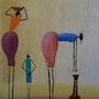 Arte africano: ir a buscar agua. Denis Green