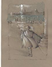 Casanova, la fuite des plombs. Henrion