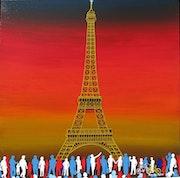 Paris 14. Juli. Maxime Dufour