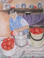 Tomatenkonserven. Françoise-Elisabeth Lallemand
