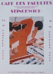 Affiche d'exposition Stinckwich.. Stinckwich