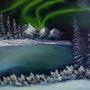 La aurora boreal. Denis Green