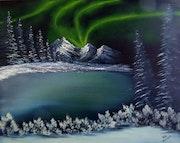 La aurora boreal.