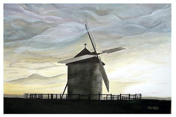 Die Mühle Moidrey. Paul Nanty Paul Nanty