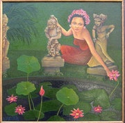 Les Lotus de Wayan. Claire Mettra