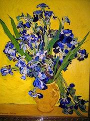 Los Lirios de Van Gogh. Dionisio Felipe