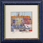 The Port of Saint Tropez. Jean Luc Juge