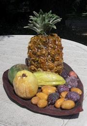 Exotic Fruit Salad. Couscous