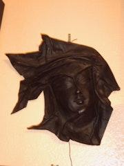 Don mask leather artwork. Levy Henry