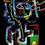 Brushstroke 1 - limitierte Original Grafik - Jacqueline_Ditt. Universal Arts Galerie Studio Gmbh