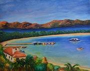 Holy Island Margueritte.