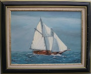 Sailboat in Brittany 2.