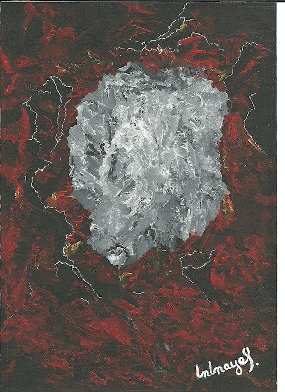 Meteorito.  Peintre