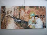 Carnival of Venice. Christian Scarline