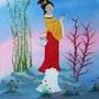 Japanese lady. Denis Green