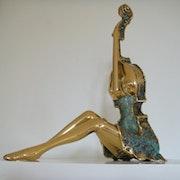 Dancer seated. Christian Nowaczyk