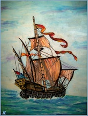 The galleon.