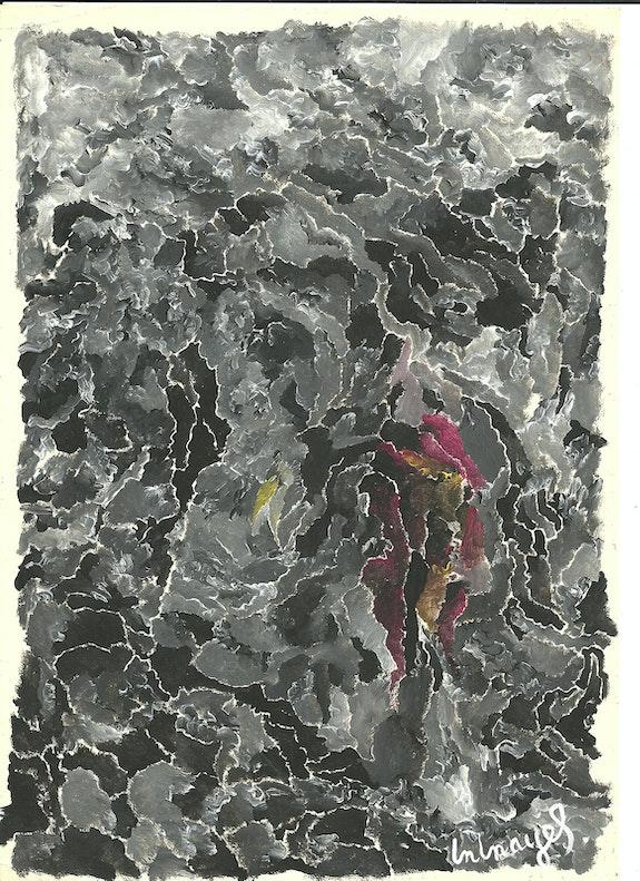 Oscuridad 1.  Peintre