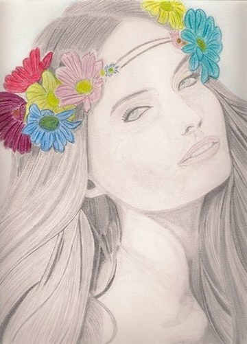 Gentle Flower. Ralph. Art