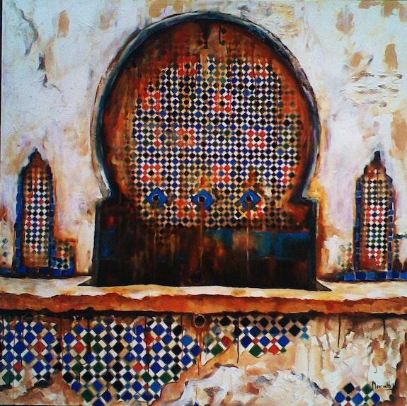 Fontaine de fés.  Fatiha Mourahhib