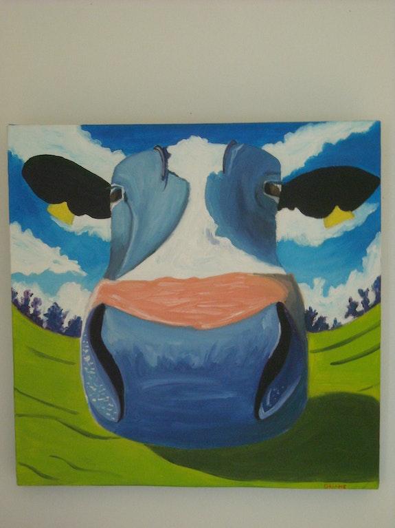 Drôle de vache. Oriana Oriane