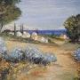 Village et plage provence-côte d'azur. Salsera