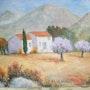 Vieille maison en Provence. Salsera