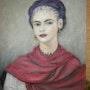 Autorretrato de Kahlo Fryda. Salsera