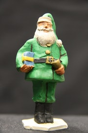 Father Christmas Green (Toy Soldier - Toy Soldier 60mm - Limited Edition).