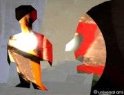 Sociedad 1 - limitada originalgraphic - Mario Strack. Universal Arts Galerie Studio Gmbh