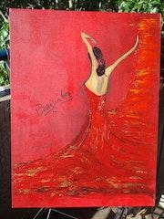 Bailarina sevillana. Julychris