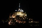 Mont Saint-Michel by night….