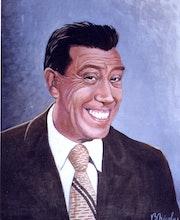 Retrato Fernandel.