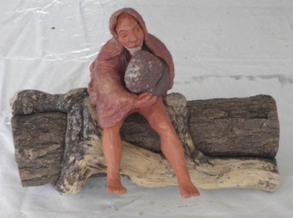 Le porteur de pierre. Elfi Elfi